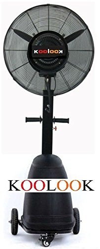KOOLOOK 'Ventilator/Vernebler Black Pro professionellen Einsatz