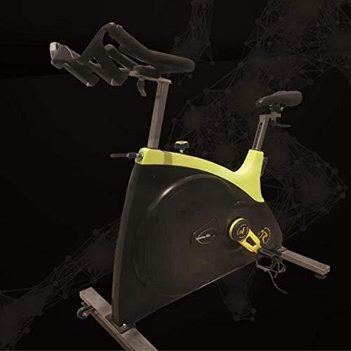 Spinning bike Indoor Exercise Bike Silent Shock Absorption Stepless Resistance Adjustment Adjustable Handles Home Outdoor Gym 1 Piece Yellow 10358114 cm 3