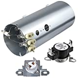 Monkemon 134792700 Dryer Heating Element, 137032600 Thermal Limiter and 3204267 Thermostat Compatible with Electrolux Frigidaire Dryers, Replacement PS2349309 AP4368653 AP4368739 PS2349395 and AP21314