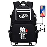WOONN Anime Tokyo Ghoul SUB Adolescente mochila estudiante mochila niños mochila maletín mochila portátil bolsa estudiante suministros