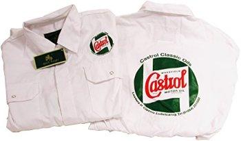 Castrol STR720-42 Mechanic Overalls, 42-inch, White
