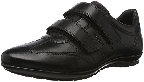 Geox UOMO Symbol D, Zapatillas Hombre, Negro (Black C9999),