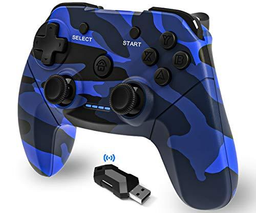 Maegoo Controller PC Wireless, PS3 Controller 2.4g...