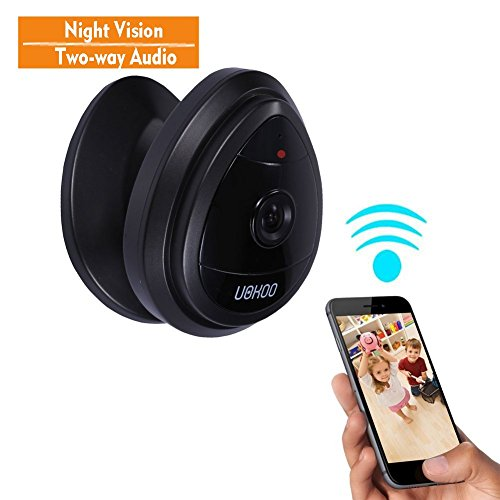 Mini IP Camera, UOKOO Home WiFi Wireless Security...