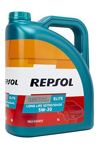 Repsol 543050 Motoröle Elite Long Life 5W30 5 Lt,...