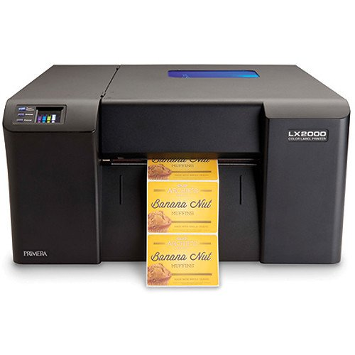 Primera LX2000 Color Label Printer, Print Your Own Short Run Product Labels, Prints Up To 8.25' Wide