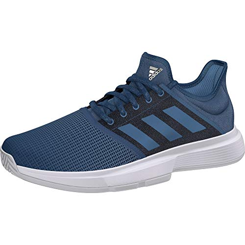 Adidas Men Gamecourt M Tennis Shoes (EE3817) Blue