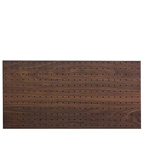 光(Hikari) ウッディボード パンチングボード 有孔ボード 910x600x5.5mm ダークブラウン 穴ピッチ:25mm PGM...