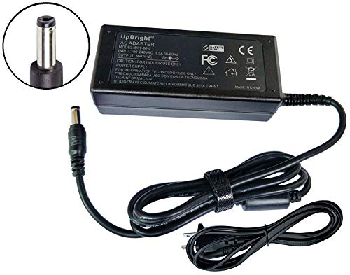 UpBright 24V AC/DC Adapter for LG 26LV2500 26LE 3300 22LE5500 22LE5300 22LT360C 26LT640H 26LT660H 26LT360C 26LT380H 19LE 5300 19LV 2500 15EL 9500 LED LCD HDTV PA-1061-61 EAY62289901 EAY62289801 24VDC