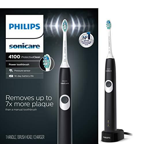 מברשת שיניים חשמלית שקטה ומצוינת: Philips Sonicare ProtectiveClean 4100