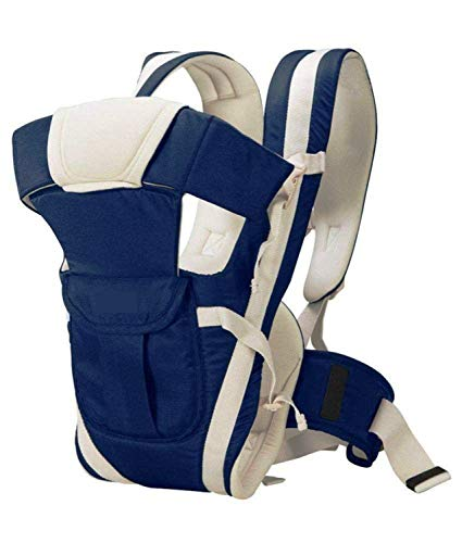 Nagar International Soft Baby Carrier 4 in 1 Position with Comfortable Head Support & Buckle Straps...