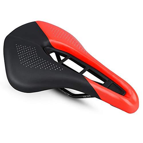 ロードバイクシートマウンテンバイクシート中空通気性快適シートクッション超広幅250MM * 160MM