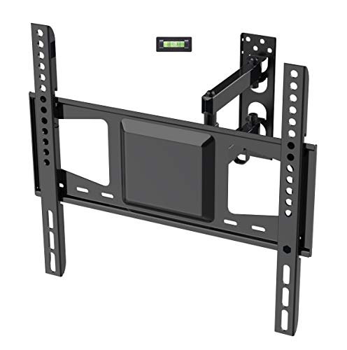 Fleximounts A26 TV Wall Mount Bracket for Most 26-55 Inch TV up to VESA 400 x 400 with Full Motion Swivel Tilt Articulating Arm for LCD LED HD