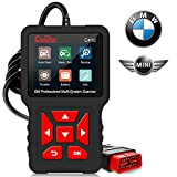 Professional OBD2 Scanner Code Reader for BMW ,Mini Cooper, Creator C410 Scan Tool Multi-Systems Diagnostic Scan Tool with ABS/TCM/BMS/PCM/EPB/Oil Reset Battery Registration