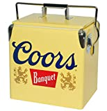 Koolatron Ice Chest with Bottle Opener - 18 Can Capacity, (14 Quarts/13 Liters) (Coors Banquet)