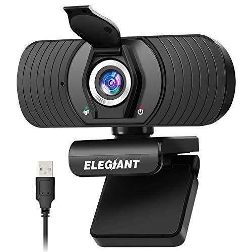 ELEGIANT Webcam Cámara Web 1080P HD PC Cámara de Ordenador con...