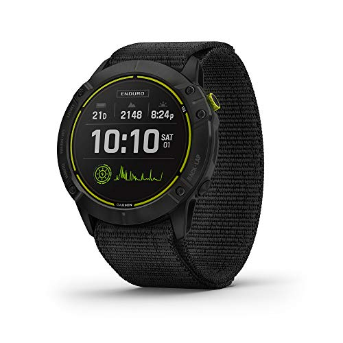 Garmin Enduro, Ultraperformance Multisport GPS Watch, Solar Charging, Battery Life Up to 80 Hours in GPS Mode