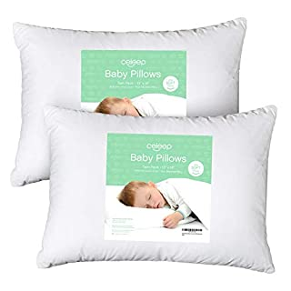 ULTRA SOFT – Made of a 100% Soft Cotton Cover and a 7D Hollow Siliconized Microfiber Filling, this pillow provides the premium comfort and support your baby needs. With just the right amount of fluff, your baby will sleep peacefully, preventing commo...