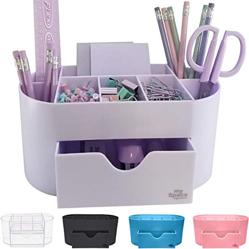 Acrylic Desk Organizer for Office Supplies and Desk Accessories Pen...