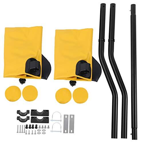 Wosune Kit de stabilisateur de Kayak, Accessoire de Bateau de canoë Stabilisateur de stabilisateur de Kayak à Palette Accessoire de Bateau de Flotteur de Palette Stabilisateur de(Yellow)