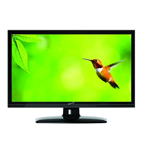 Supersonic SC-1511 15.6-Inch 1080p LED Widescreen HDTV with HDMI Input (AC/DC Compatible)