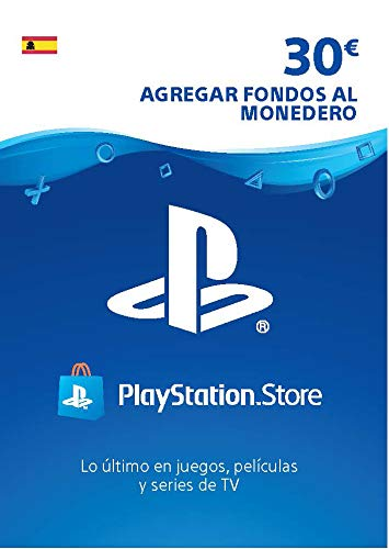 Sony, PlayStation - Tarjeta Prepago PSN 30€ | PS5/PS4/PS3