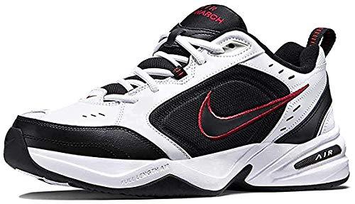 Nike Air Monarch IV (4E) Extra-Wide Men's Shoes White/Black-Varsity Red 416355-101 (9 4E US)