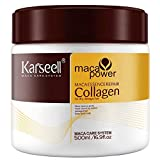 Mascarilla de pelo con aceite de argán Deep Acondicionador Orgánico karseell Colágeno seco y...