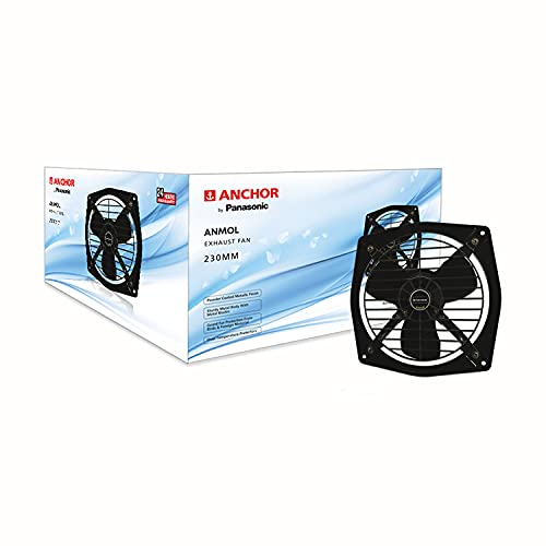 Anchor by Panasonic Anmol Fresh Air 230mm Exhaust Fan  Exhaust Fan for Home, Office, Kitchen and...
