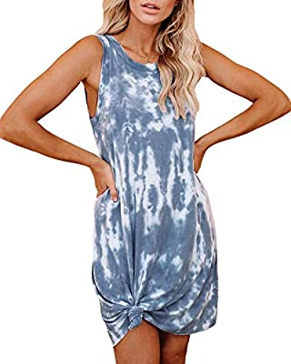 -Don't Miss The Tie Dye Fashion! Tie Dye Is One Of The Most Popular Element In 2020.This Casual Loose Dress Is Designed With The Chic Tie Dye Print,Which Can Easily Catch Everyone's Attention And Easy To Be A Fashion Icon.What's More,This Dress Is Al...