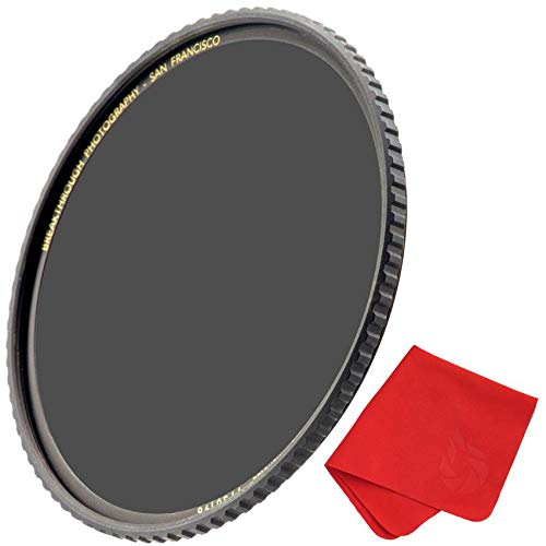 Breakthrough Photography 77mm X4 3-Stop Fixed ND Filter for...