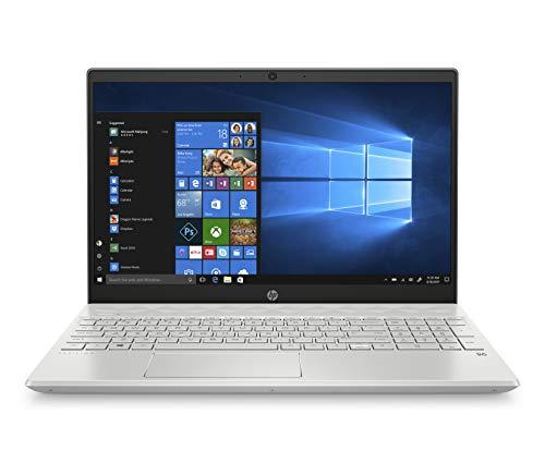 HP-PC Pavilion 15-cs2120nl Notebook, Intel Core i7-8565U, RAM 8 GB, SSD 512 GB, Grafica Intel UHD 620, Windows 10 Home, Schermo 15.6' FHD Antiriflesso, Lettore Micro SD, USB-C, HDMI, RJ-45, Argento