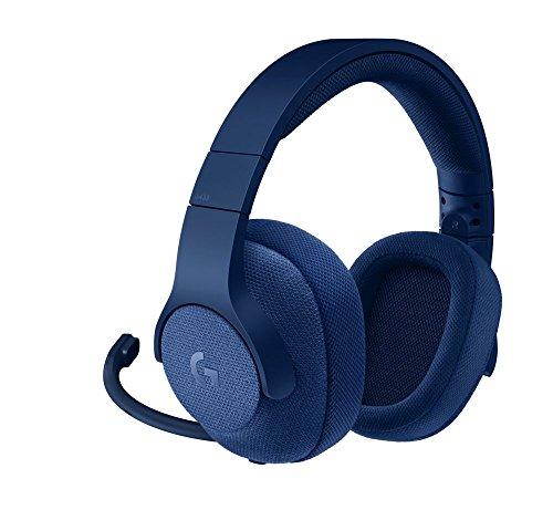 Logitech G433 Gaming-Headset, 7.1 Surround Sound, DTS Headphone:X 3D, 40mm Pro-G Treiber, USB-Anschluss & 3,5mm Klinke, Abnehmbares Mikrofon, PC/Xbox One/PS4/Nintendo Switch - Royal Blue/blau