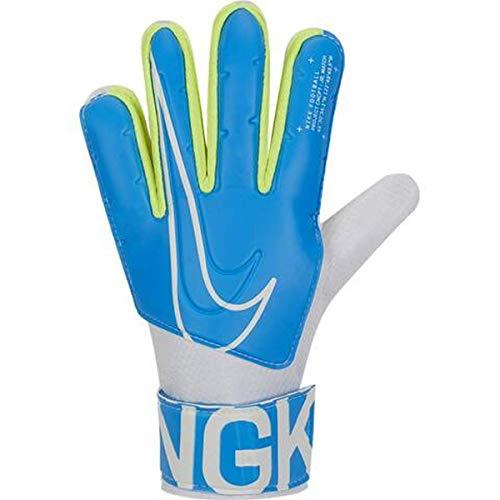 Nike GS3883, Guanti da Calcio Unisex Bambini, Blue Hero/White, 7