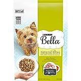 Purina Bella Natural Small Breed Dry Dog Food, Natural Bites With Real Turkey & Chicken - 12 lb. Bag