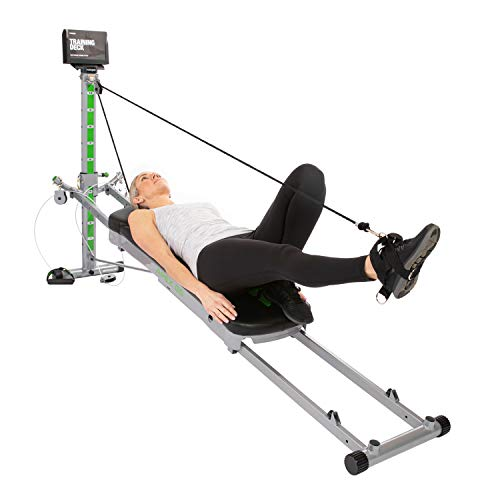 Total Gym APEX G5 Versatile Indoor Home Workout Total Body Strength Training Fitness Equipment with 10 Levels of Resistance and Attachments 6