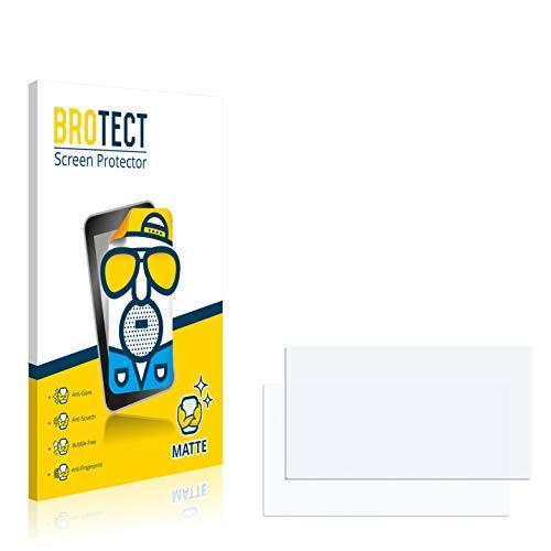 BROTECT 2X Entspiegelungs-Schutzfolie kompatibel mit Mercedes-Benz Comand APS 2.5 Displayschutz-Folie Matt, Anti-Reflex, Anti-Fingerprint
