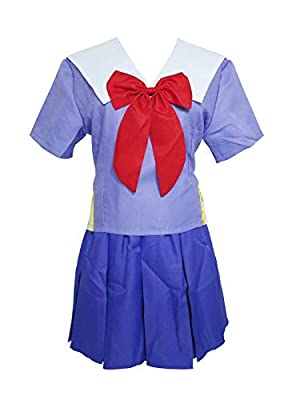 Mirai Nikki Yuno Gasai Junior High School Student Uniform Cosplay Costume Including:Top,Skirt,Bowtie Handling time:5-7 days, shipping time: standard shipping 10-15 days; expedited shipping 5-7days Please send your measurements to us via email/message...