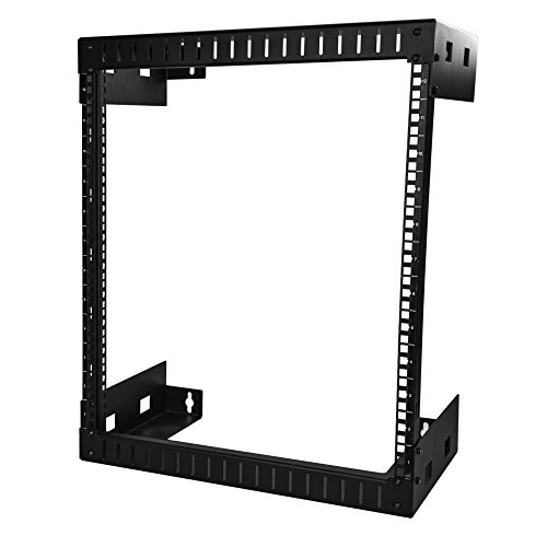 StarTech.com Server Rack 12U Montabile a parete - 12 pollici di Profondit - Rack per Rete Network a Telaio Aperto