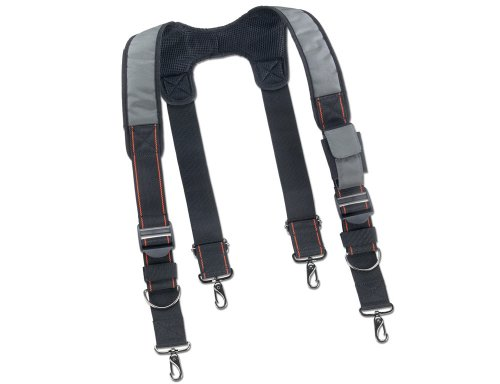Ergodyne Arsenal 5560 Tool Belt Suspenders, Padded Shoulders, Adjustable