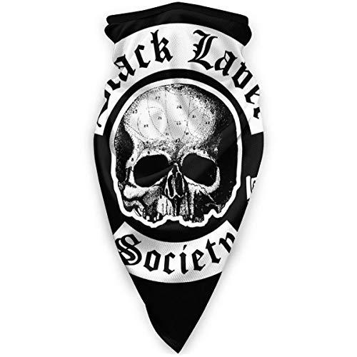 YAGEAD Black Label Society Face Shield Face Neck Gaiter Bufanda a Prueba de Viento Protector Solar Bandana Transpirable Balaclava-LG7