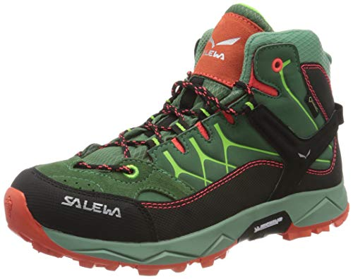 Salewa Unisex-Kinder JR Alp Trainer Mid Gore-TEX Trekking- & Wanderstiefel,...