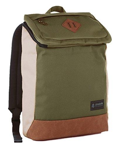 Zaino Invicta Utility Pack, Verde, 20 Lt, Porta Laptop 11', Tempo libero & Office