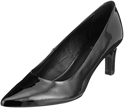 Geox D Bibbiana A, Escarpins Femme, Noir (Black C9999), 39 EU