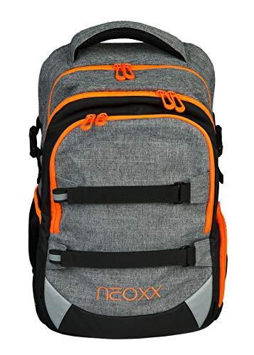 neoxx Active Schulrucksack - Rucksack für die Schule, ergonomischer Schulranzen aus recycelten PET-Flaschen, Schultasche für Mädchen und Jungen