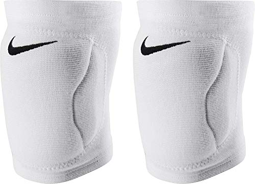 Nike Streak Dri-Fit Volleyball Knee Pads (White, XL/XXL)