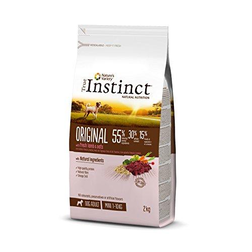 True Instinct Original - Pienso para Perros Mini Adultos con Cordero -...