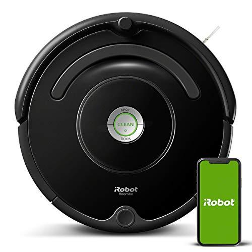 iRobot - Robot aspirador Roomba 671 conectado a WIFI, Para alfombras y suelos, Tecnología Dirt Detect, Sistema limpieza en 3 fases, Sugerencias...
