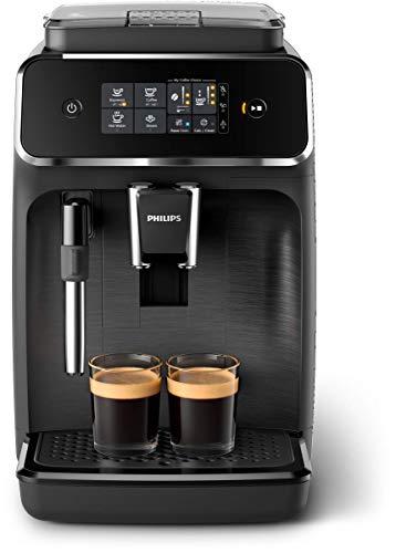 Philips EP2220/10 Machine Espresso automatique Séries 2200 Mousseur à Lait Noir Mat