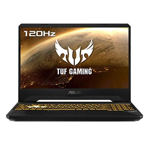 """ASUS TUF Gaming FX505DV-AL116 - Ordenador portátil de 15.6"""" FullHD (AMD Ryzen 7 3750H, 16GB RAM, 1TB SSD, GeForce RTX 2060-6GB, sin sistema operativo) Negro Sigilo - Teclado QWERTY español"""